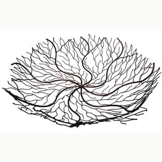 24-Inch Copper Wire Brush Bowl (Indonesia)