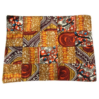 Set of Four Savannah Cotton Placemat and Napkins (Rwanda)