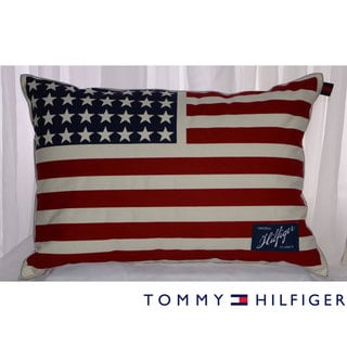 Tommy Hilfiger Americana Flag Pillow