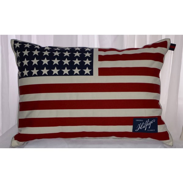 Tommy Hilfiger Americana Flag Pillow