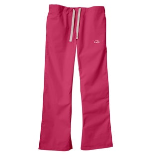 IguanaMed Women's Power Pink Classic Bootcut Scrub Pants