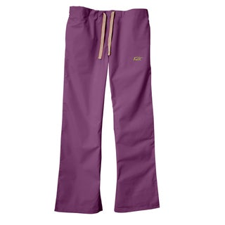 IguanaMed Women's Purple Blaze Classic Bootcut Scrub Pants