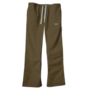IguanaMed Women's Sienna Brown Classic Bootcut Scrub Pants