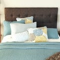 Humble + Haute Sussex Chocolate Queen Upholstered Headboard