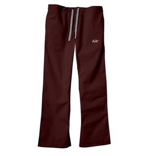 IguanaMed Women's Wine Classic Bootcut Scrub Pants