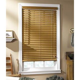Regal Estate Light Oak Window Blind