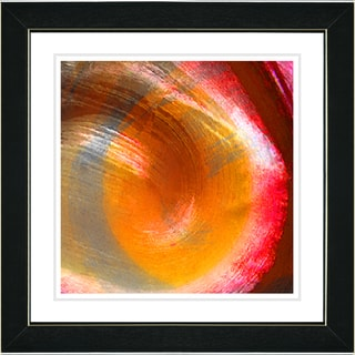 Studio Works Modern 'Orange Crush' Framed Print