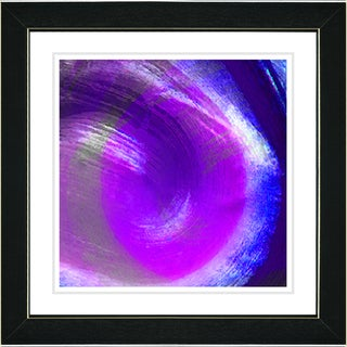 Studio Works Modern 'Grape Crush' Framed Print