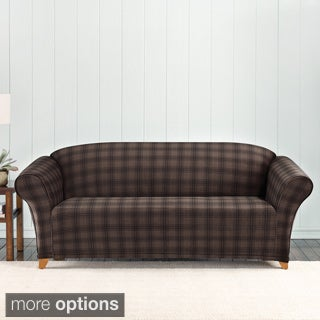 Sure Fit Stretch Belmont Plaid Sofa Slipcover