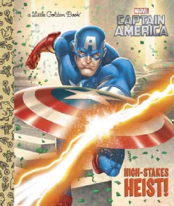 Captain America: High-Stakes Heist (Hardcover)