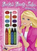 Barbie's Beauty Salon Color and Paint Plus Stickers (Novelty book)