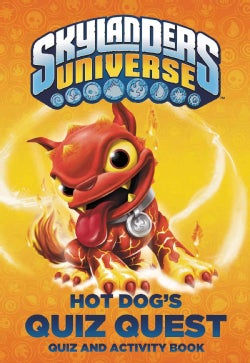 Hot Dog's Quiz Quest: Quiz and Activity Book (Paperback)