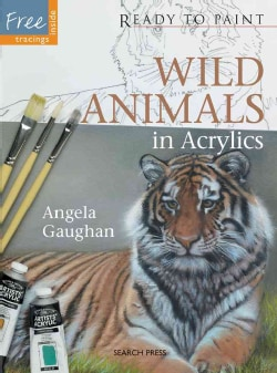 Wild Animals in Acrylics (Paperback)