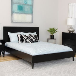 Sterling Soft Black Queen-size Bed