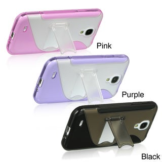Samsung Galaxy S4 Kick Stand Rubberized Hard Case