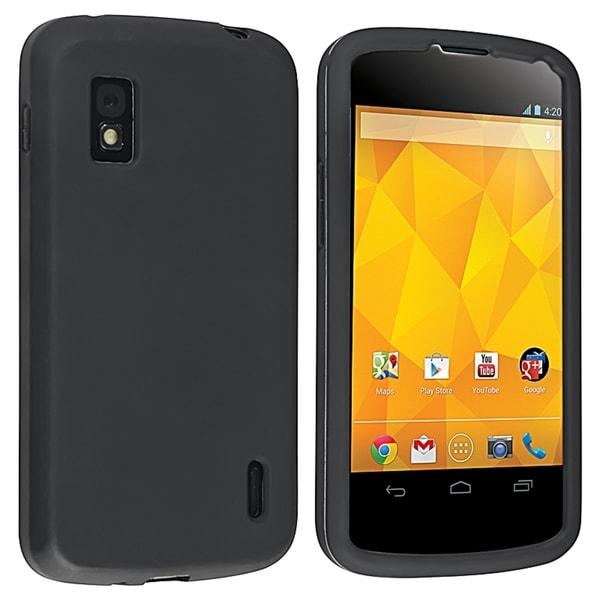 BasAcc Black Skin Case for LG Nexus 4 E960