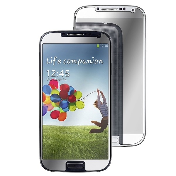 INSTEN Mirror Screen Protector for Samsung Galaxy S IV/ S4 I9500