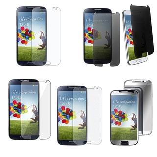 BasAcc Privacy Screen Protector for Samsung Galaxy S IV/ S4 I9500