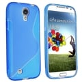 BasAcc Clear Blue S Shape TPU Case for Samsung Galaxy S IV/ S4 I9500