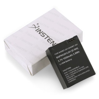 Insten High-capacity Rechargeable Li-ion Battery for GoPro Hero 3/ 3+