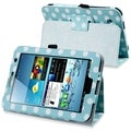 BasAcc Polka Dot Leather Case for Samsung Galaxy Tab 2 7.0 P3100/ 3110