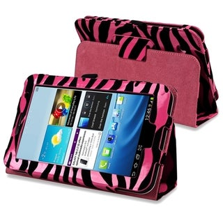 INSTEN Zebra Leather Tablet Case Cover for Samsung Galaxy Tab 2 7.0 P3100/ 3110