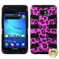 BasAcc Pink Leopard/ Fishbone Case for Samsung Galaxy S II Attain i777