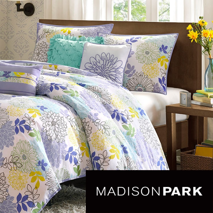 Madison Park Jessica Cotton 6-piece Duvet Set