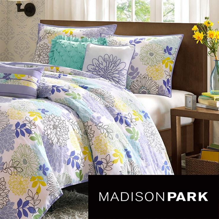 Madison Park Jessica Cotton 6-piece Duvet Set