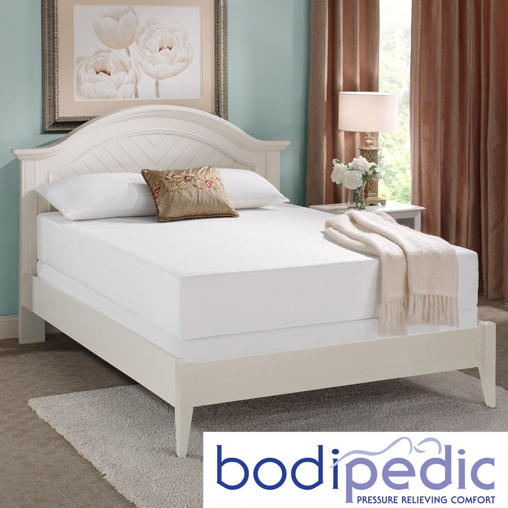 Bodipedic Essentials 10-inch Gel Memory Foam Full-size Mattress at Sears.com