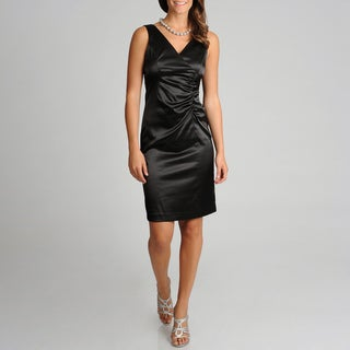 Betsy & Adam Women's Little Black Dress