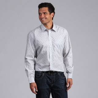 XMI Platinum Men's Printed Button-front Shirt