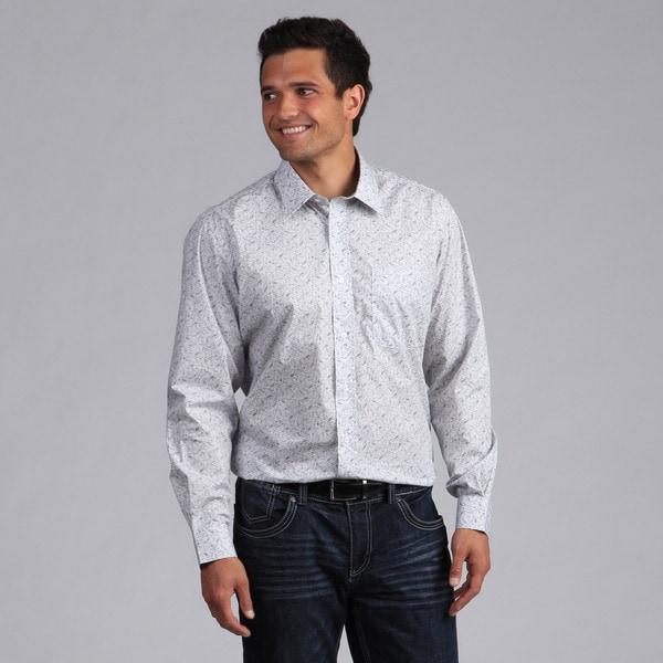 XMI Platinum Men's Printed Button-front Shirt 11047080