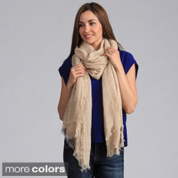Saro Long Multi Stitch Shawl