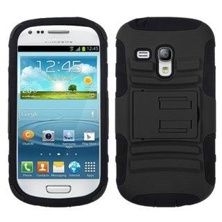BasAcc Black Armor Case for Samsung i8190 Galaxy S III Mini