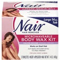 Nair Salon Divine Microwavable Body Wax Kit