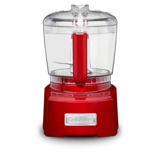 Cuisinart CH-4MRFR Metallic Red Elite Collection 4-cup Chopper/ Grinder (Refurbished)