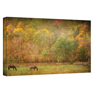 David Liam Kyle 'Pasture' Gallery-Wrapped Canvas