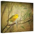 David Liam Kyle 'Bird on Branch' Gallery-Wrapped Canvas