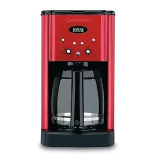 Cuisinart DCC-1200MRFR Metallic Red Brew Central Programmable Coffeemaker Refurbished)