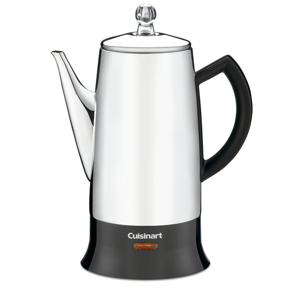 Cuisinart PRC-12FR Black Stainless Steel Classic 12-cup Percolator
