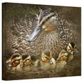 David Liam Kyle 'Baby Ducks' Gallery-Wrapped Canvas