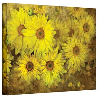 David Liam Kyle 'Bright Sunflowers' Gallery-Wrapped Canvas