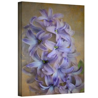 David Liam Kyle 'Purple Lillies' Gallery-Wrapped Canvas
