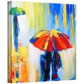 Susi Franco 'Downpour' Gallery-Wrapped Canvas