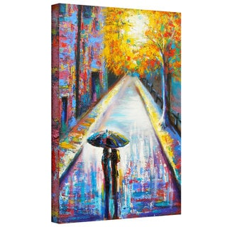Susi Franco 'Paris Back Street Magic' Gallery-Wrapped Canvas