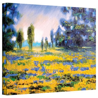 Susi Franco 'Sea of Butter' Gallery-Wrapped Canvas