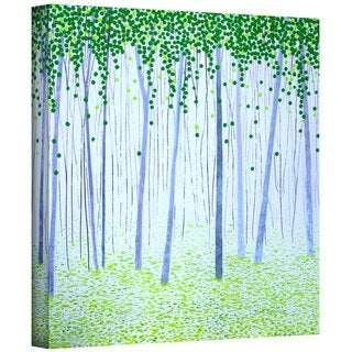 Herb Dickinson 'Misty Woodlands' Gallery-Wrapped Canvas