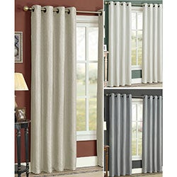 Natural Grommet 84-inch Curtain Panel Pair