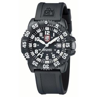 Luminox Men's 'Navy Seal Colormark 3051' Black Watch